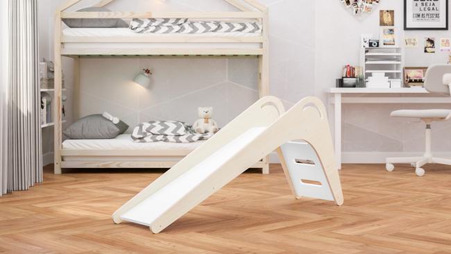 toboggan, entraînement à domicile, divertissement à la maison, meubles pour enfants, meubles d'enfants