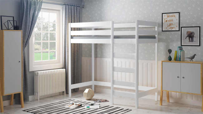 Łóżko dziecięce antresola Luki Plus L1