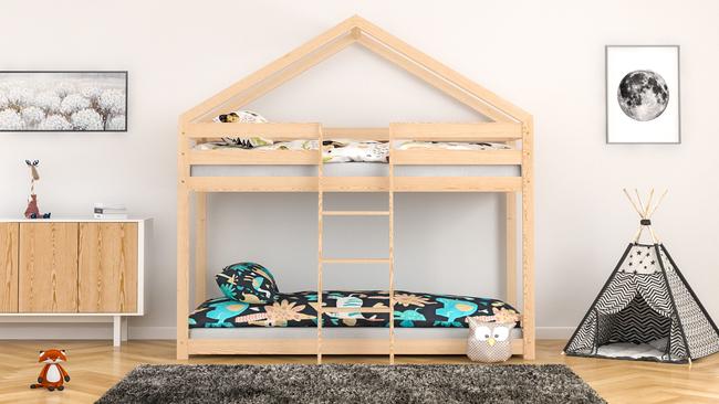lit  lit en forme de maison