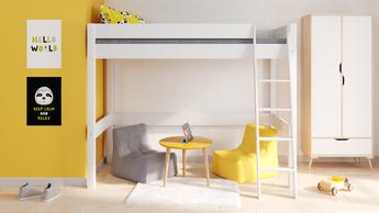 lit mezzanine