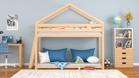 lits cabanes pour les enfants