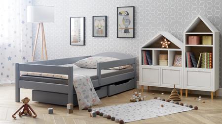 un lit pour les enfants