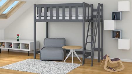 lit mezzanine pour enfants