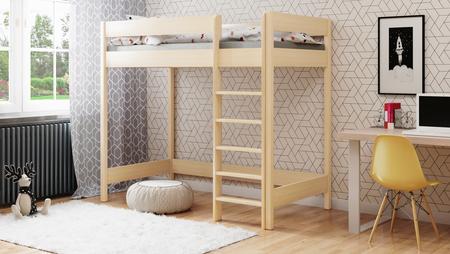 Łóżko antresola dla dzieci Hubi 5