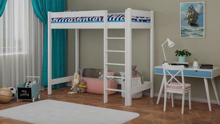 lits mezzanine pour enfants