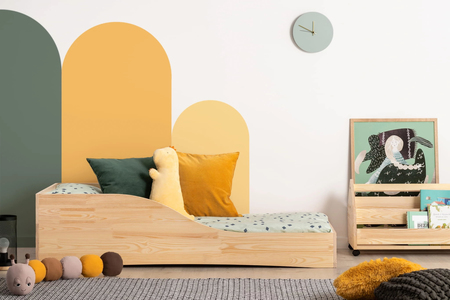 Łóżko dla dzieci pojedyncze Bella