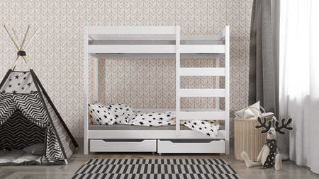 Łóżko dziecięce piętrowe Wanda W1