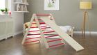 toboggan, entraînement à domicile, échelle d'exercice, triangle de motricité, meubles pour enfants, meubles d'enfant