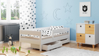 Łóżko dla dzieci pojedyncze Miki 2